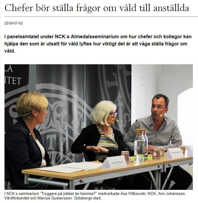 Almedalen 2019 https://media.