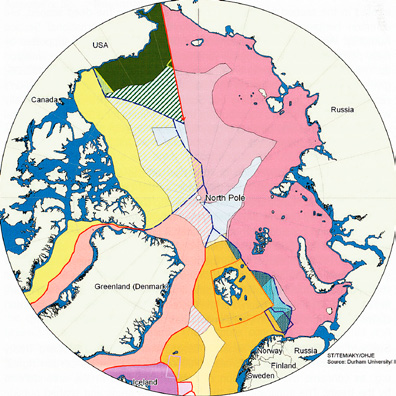 regional issues: boundaries and claims in the arctic Source: Durham University, IBRU Agreed boundary Median line (between States) Eastern Special Area Grey area (agreed fishing regime) between Norway