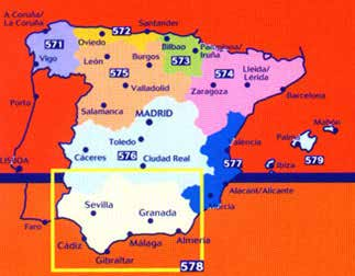 Spanien Michelin Regional Map Spain 571 Northwest Spain, Galicia 1:400.000 9782067184107 572 Northwest Spain, Asturias, Cantabria 1:250.000 573 North Centre, Pais, Vasco, Navarra, Rioja 1:250.