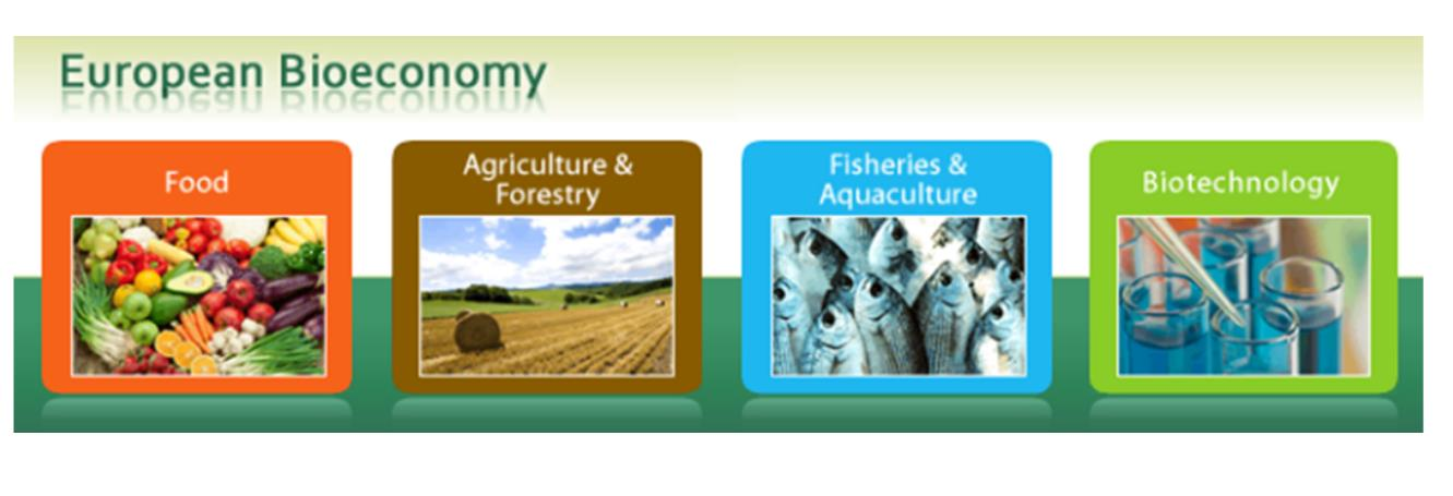 EU Bioeconomy Bioeconomy includes primary production, such as agriculture, forestry and fishery, - and industries that use of process biological products,