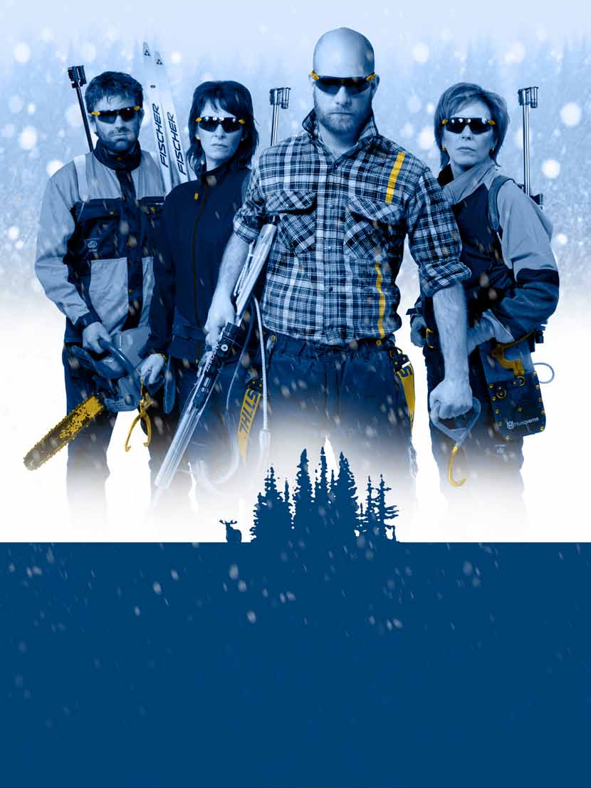 EUROPEAN FORESTERS COMPETITION IN NORDIC SKIING