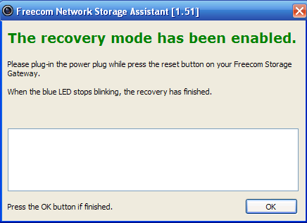 Freecom Network Storage Assistant 4.2.