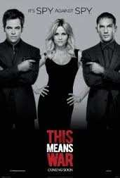 Filmrecension: This means war Filmen This means war är en amerikansk komedi som även innehåller action och romantik.