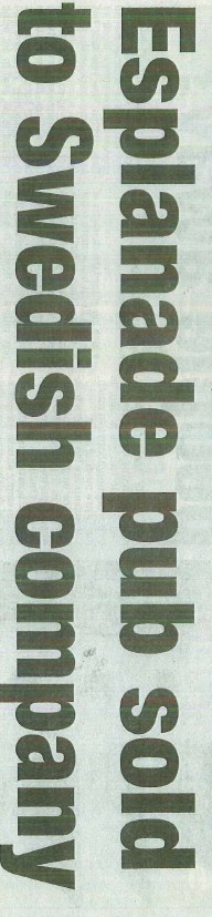 PRESSKLIPP Southend Echo, 23