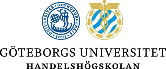 Göteborgs Universitet Företagsekonomiska institutionen Kandidatuppsats