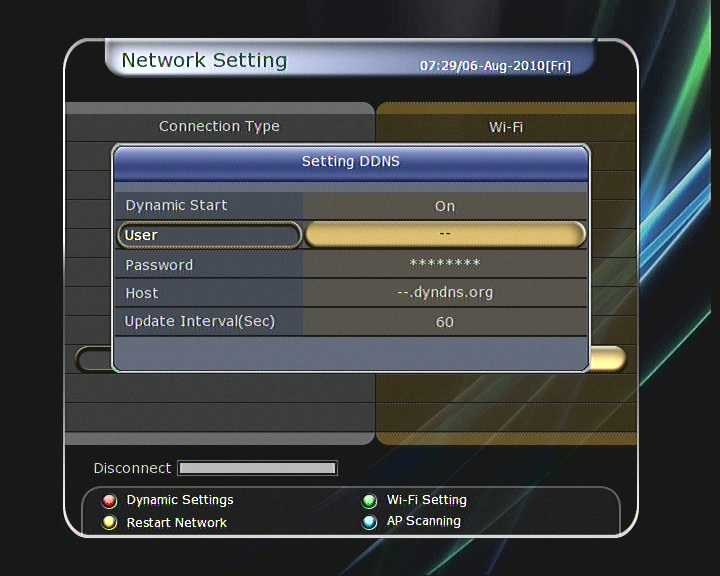 NOTE : If you use DHCP function of router, you can set easily network configuration.