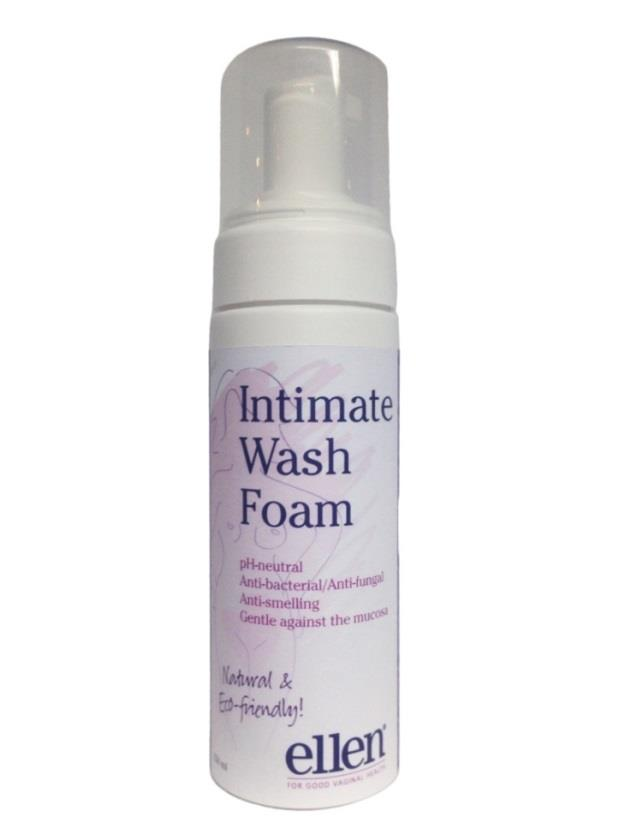 Intimate Cleansing foam Salvia olja (Salvia Officinalis) Anti-inflammatorisk Antibakteriell/motverkar svamp Motverkar dålig lukt Eco certifierad Mjölksyra för ph-balans ph-balans (6)