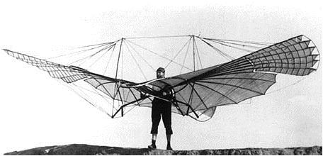 A Broader Perspective why is there such things as Law? Otto Lilienthal (1841-1896) with a small ving flapping sail 1894.