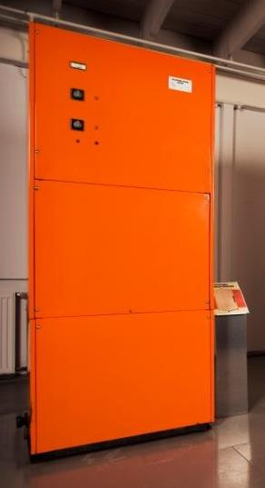 Thermia s first heat pump JBC 400 Data Launched: 1973 Size: 10,5 kw