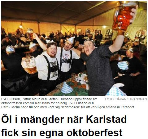 2000 Samverkan tar form IT-festerna bidrar till rivstarten 21 januari 2000: IT-party på Hotel Plaza 27 oktober 2000: Oktoberfest på