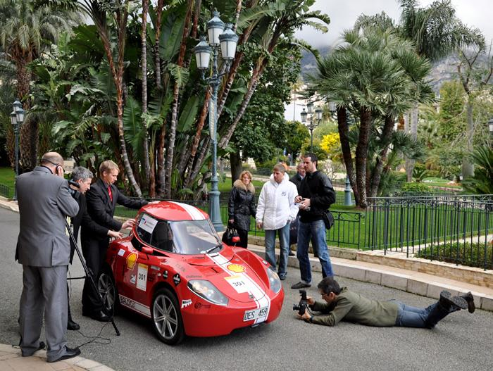 LTU Eco Marathon Team Baldos Baldos II got a lot of attention from media in Monaco Hållbar utbildning Utbildningsutbud arbetsmarknad entreprenörskap Studentrekrytering Arbetsmarknadsanknytning