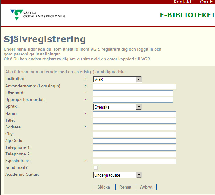Klicka på Register now.