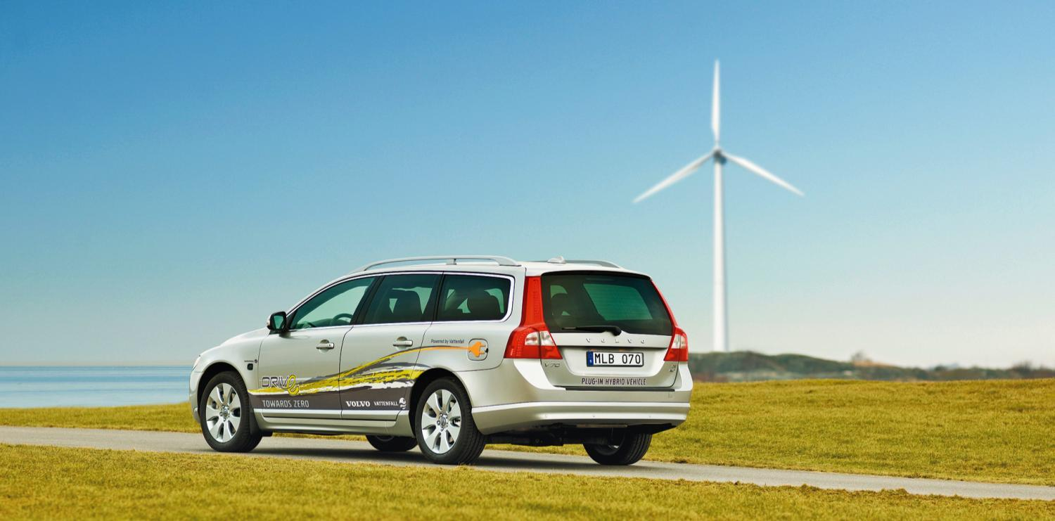 Volvo + Vattenfall = plug-in hybrid 2012 Joint efforts are needed