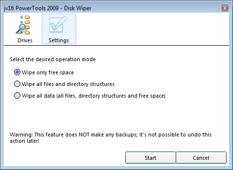 Disk Wiper Image 50.