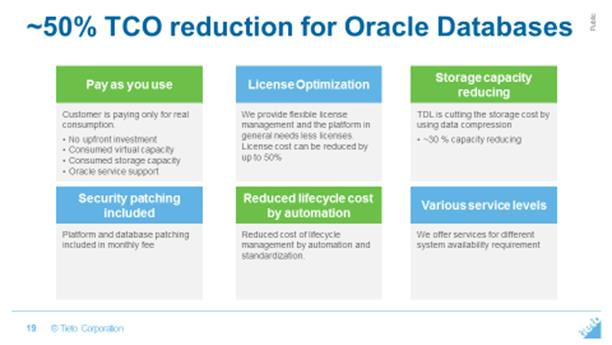 business critical database environments built on Oracle optimized technology.