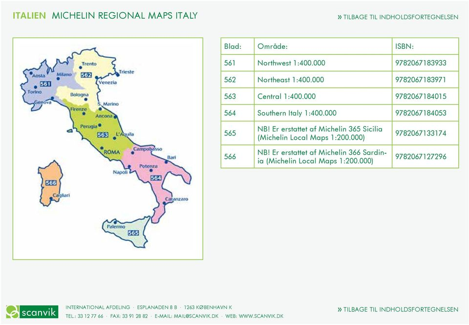 000 9782067184015 564 Southern Italy 1:400.000 9782067184053 565 566 NB!