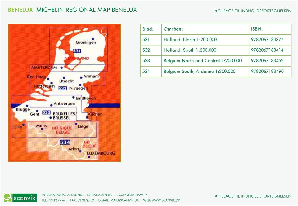 000 9782067183414 533 Belgium North and Central 1:200.