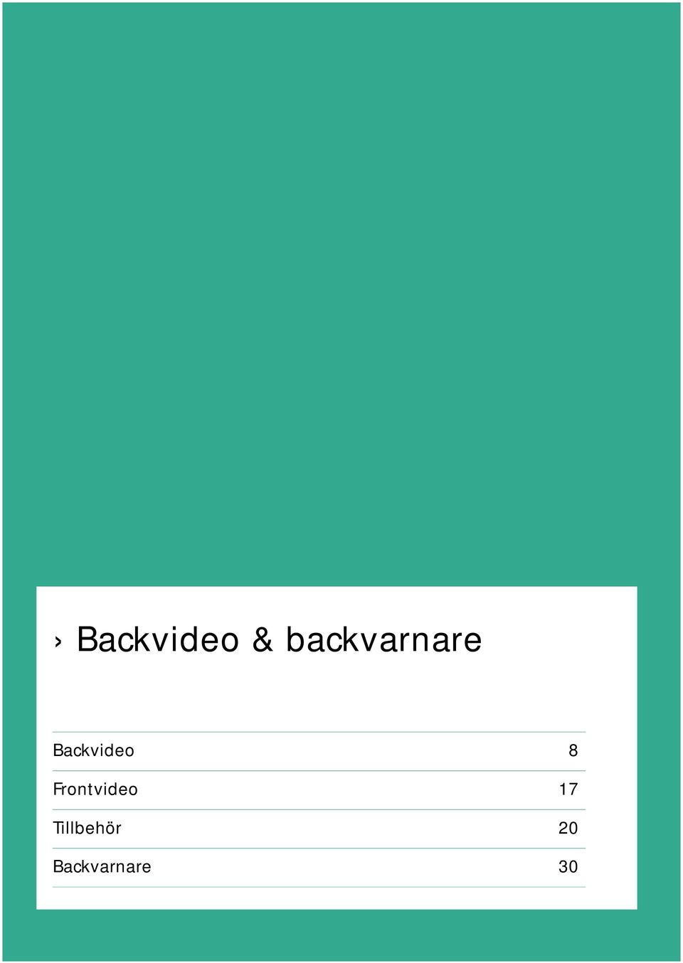 Backvideo 8