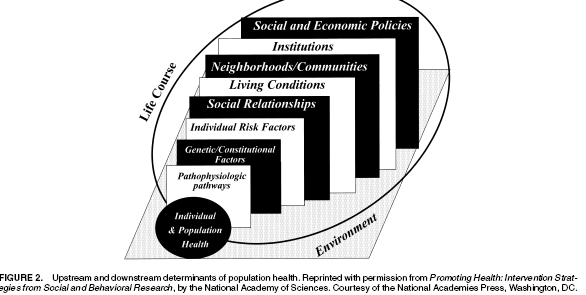 Social determinants of health (2) upstream and
