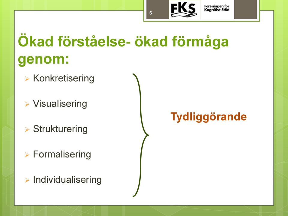Visualisering Strukturering