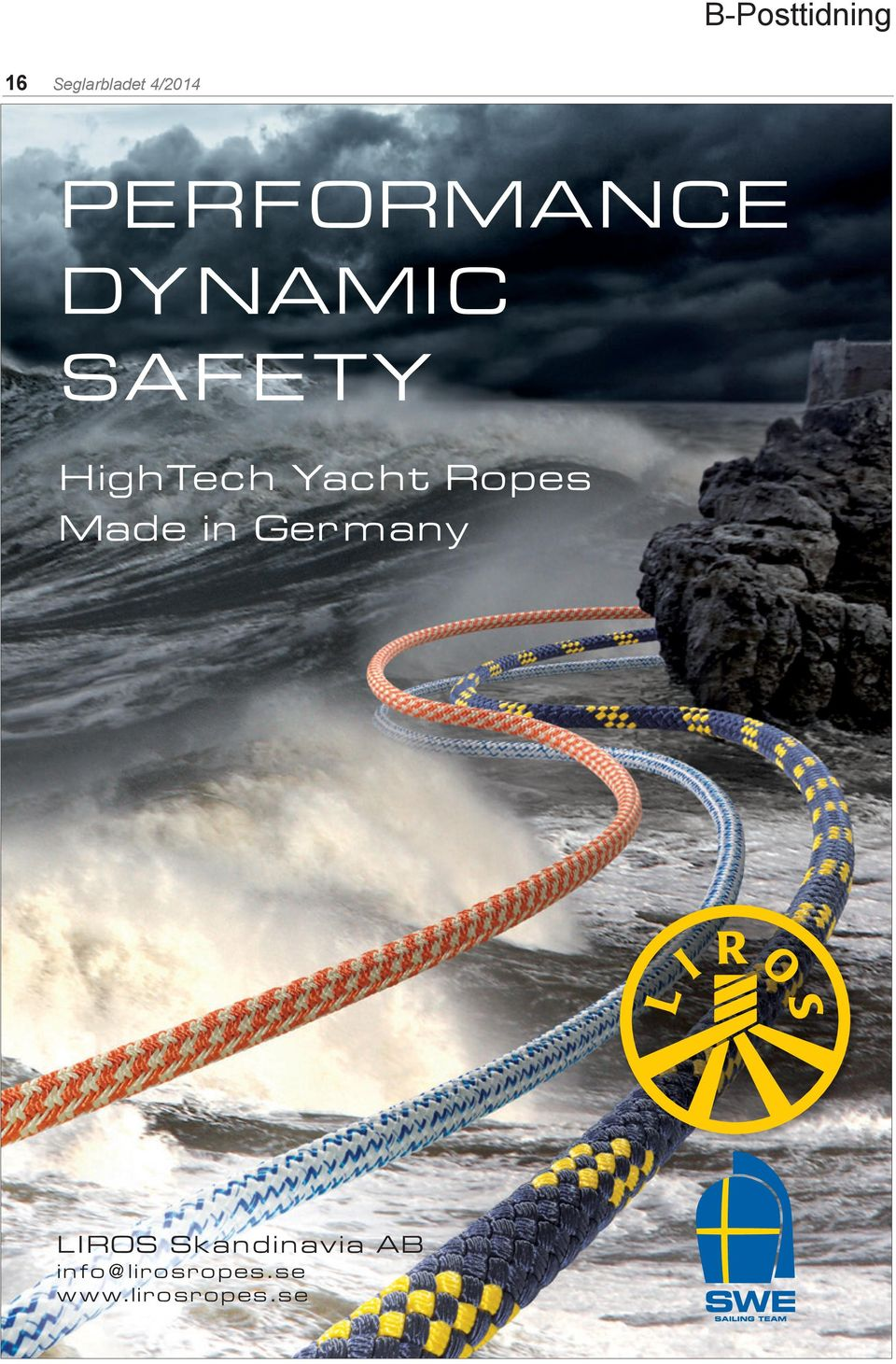 Yacht Ropes Made in Germany LIROS