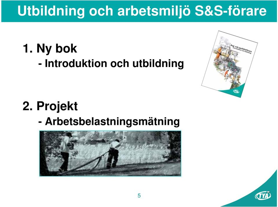 Ny bok - Introduktion och