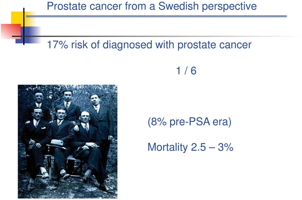 diagnosed with prostate cancer