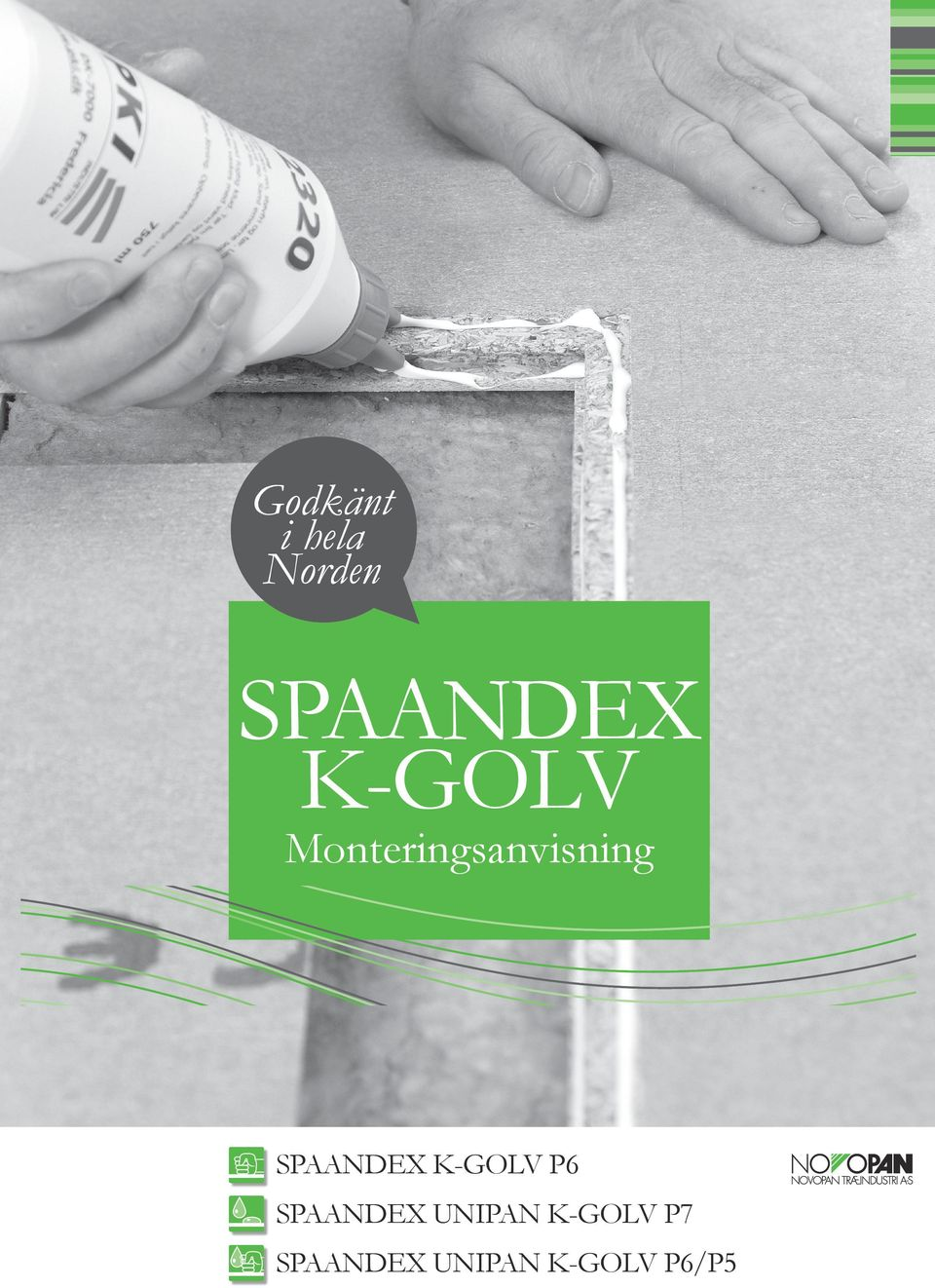 SPAANDEX K-GOLV P6 SPAANDEX