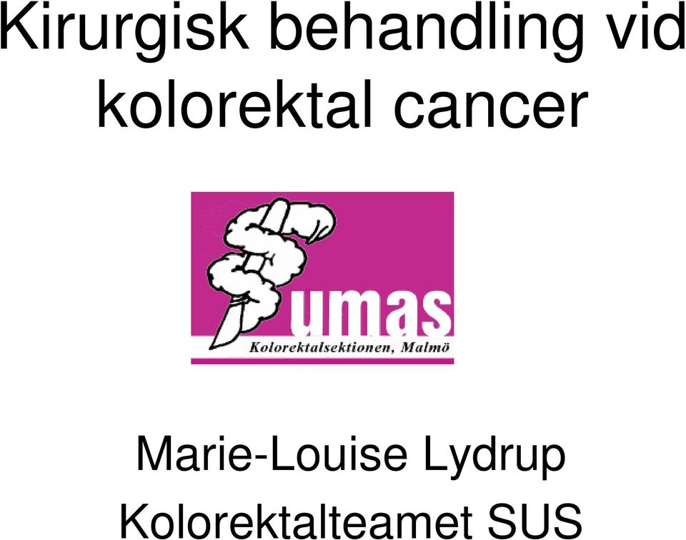 cancer Marie-Louise
