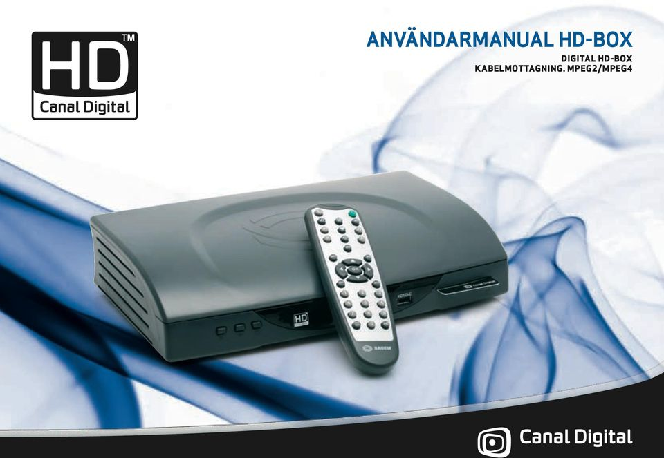 Användarmanual HD-Box