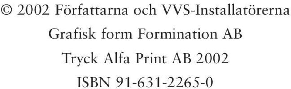 form Formination AB Tryck