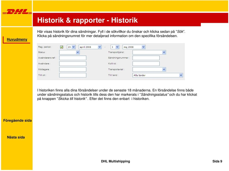 dhl multishipping