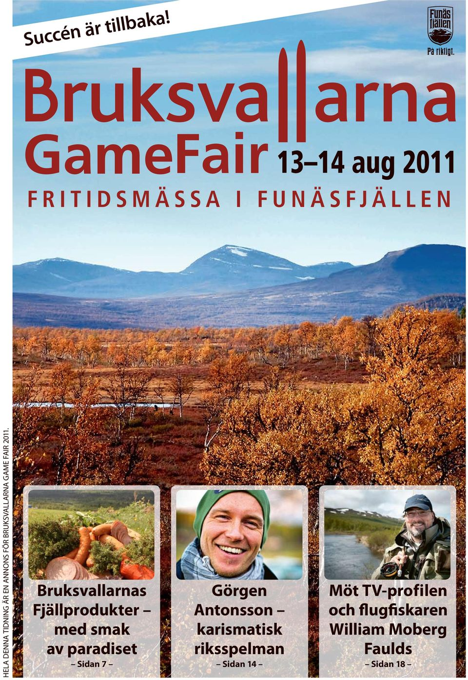 Brukvallarna Game Fair 2011.