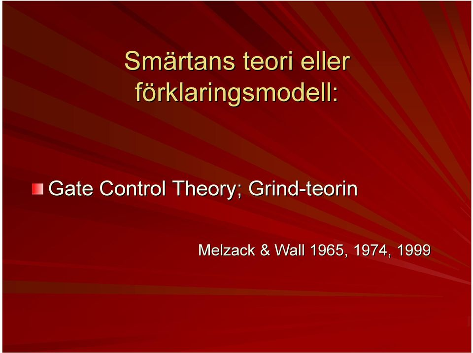 Control Theory;