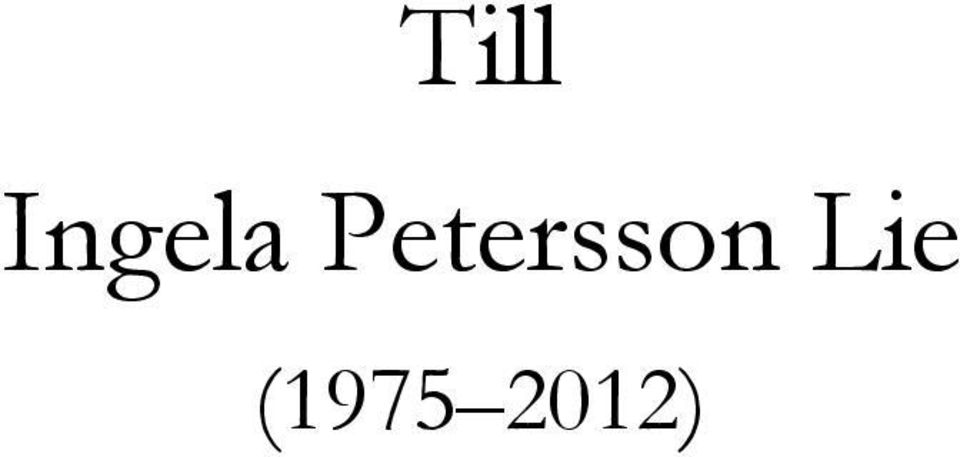 Petersson
