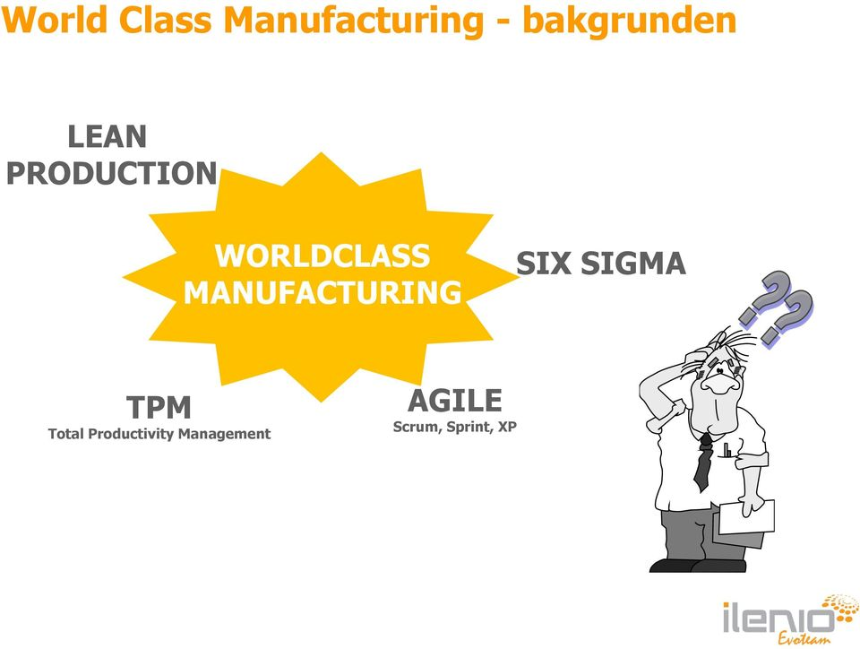 WORLDCLASS MANUFACTURING SIX SIGMA