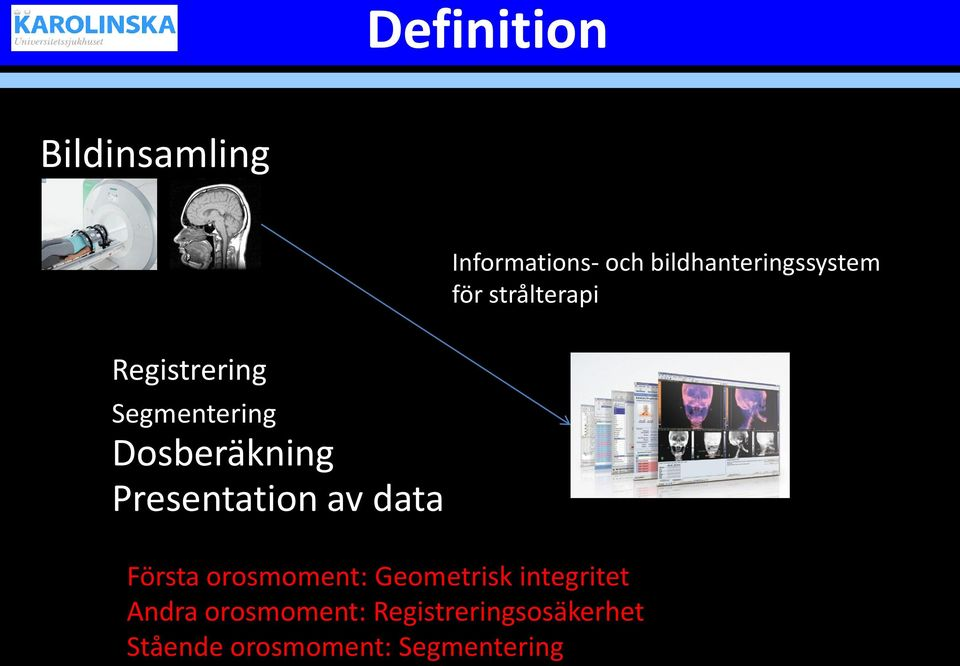 Presentation av data Första orosmoment: Geometrisk integritet