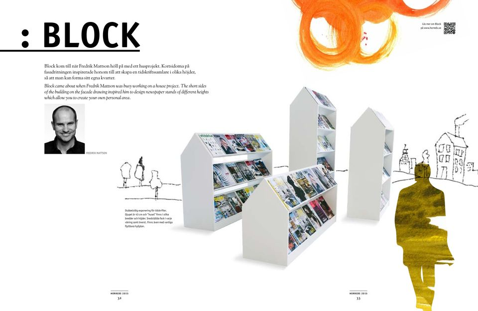 Block came about when Fredrik Mattson was busy working on a house project.