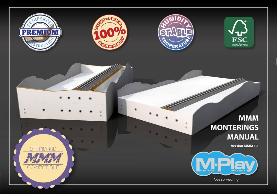 COMPATIBLE MMM MONTERINGS MANUAL