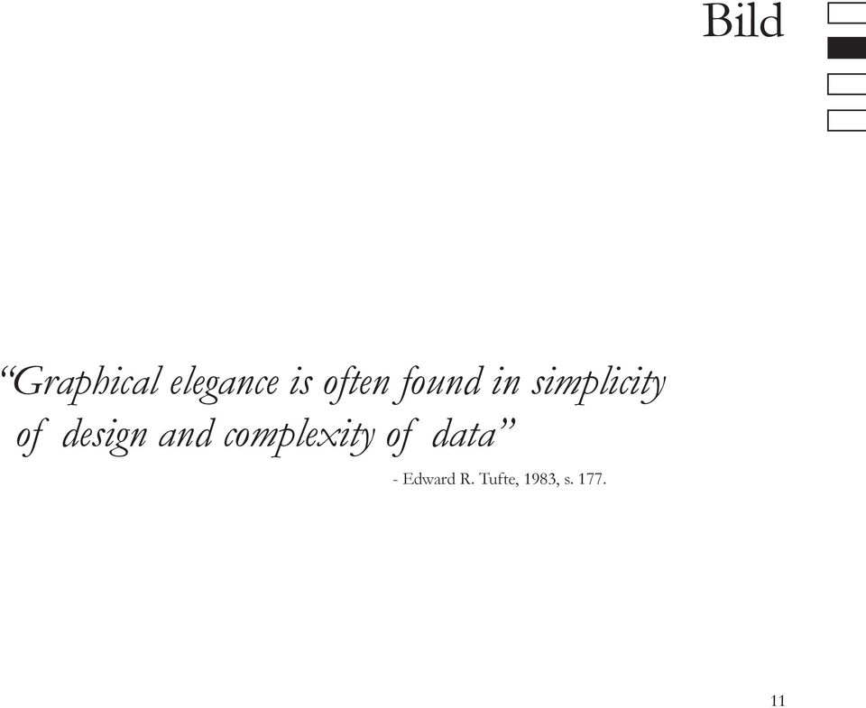 design and complexity of data