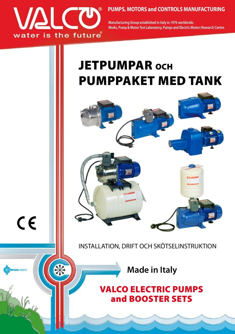 Works, Pump & Motor Test Laboratory, Pumps and Electric Motors Research