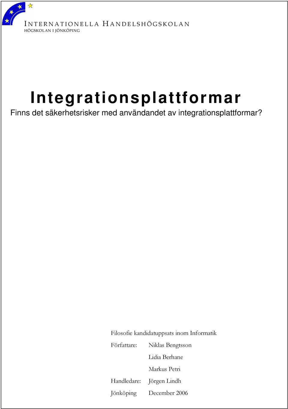 integrationsplattformar?