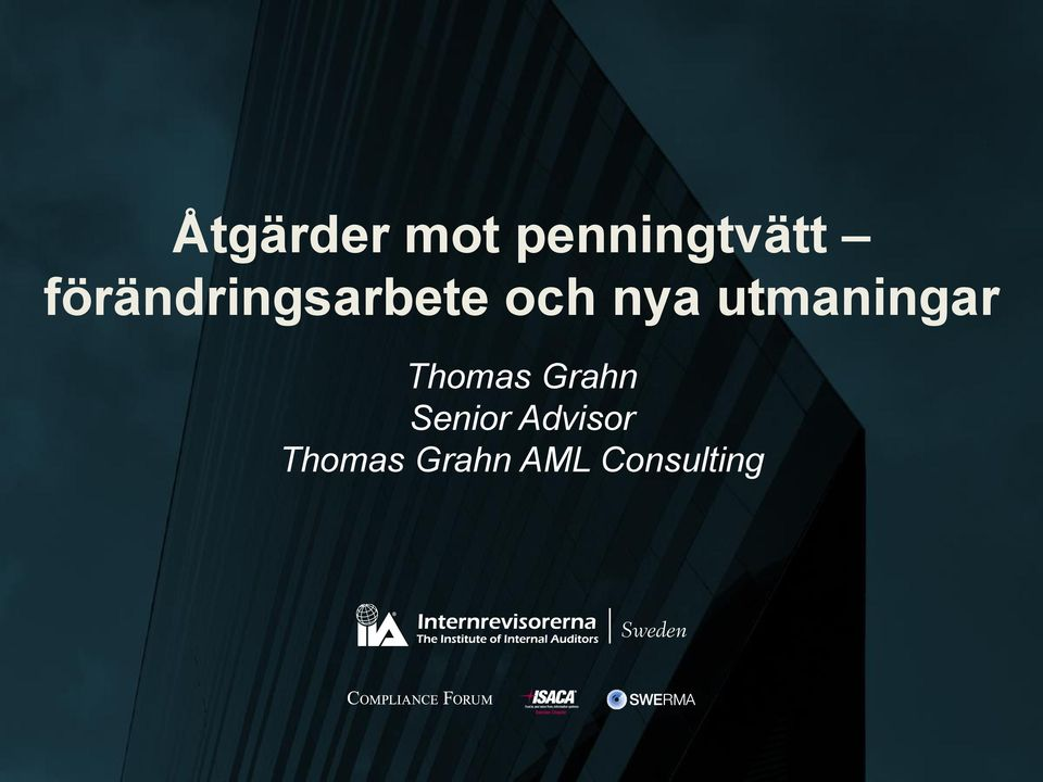 utmaningar Thomas Grahn