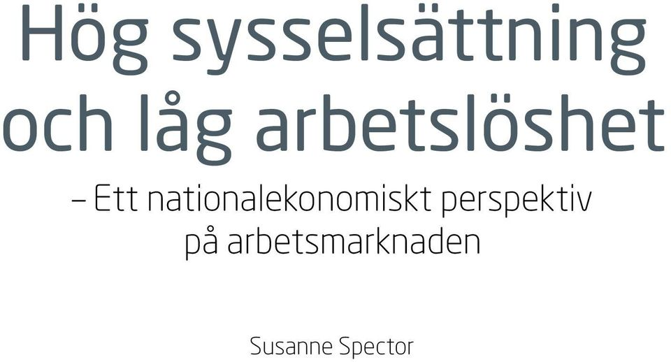 nationalekonomiskt