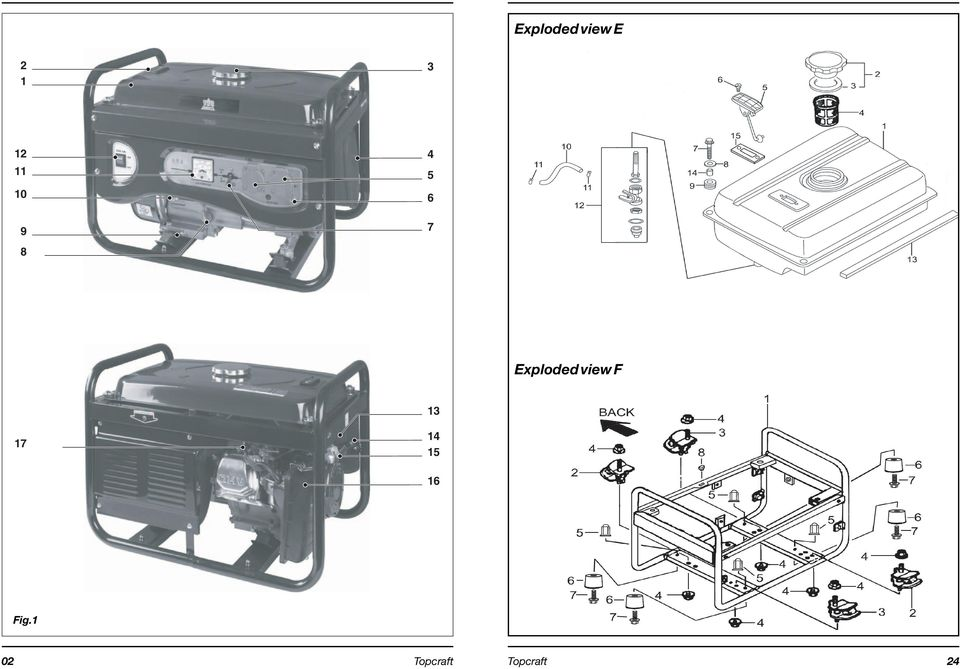 Exploded view F 13 17 14
