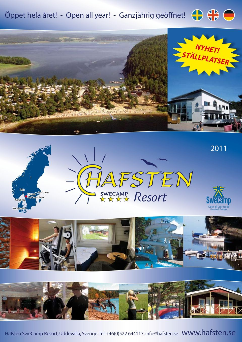 Köpenhamn SweCamp Open all year round Camping & Cottages Hafsten
