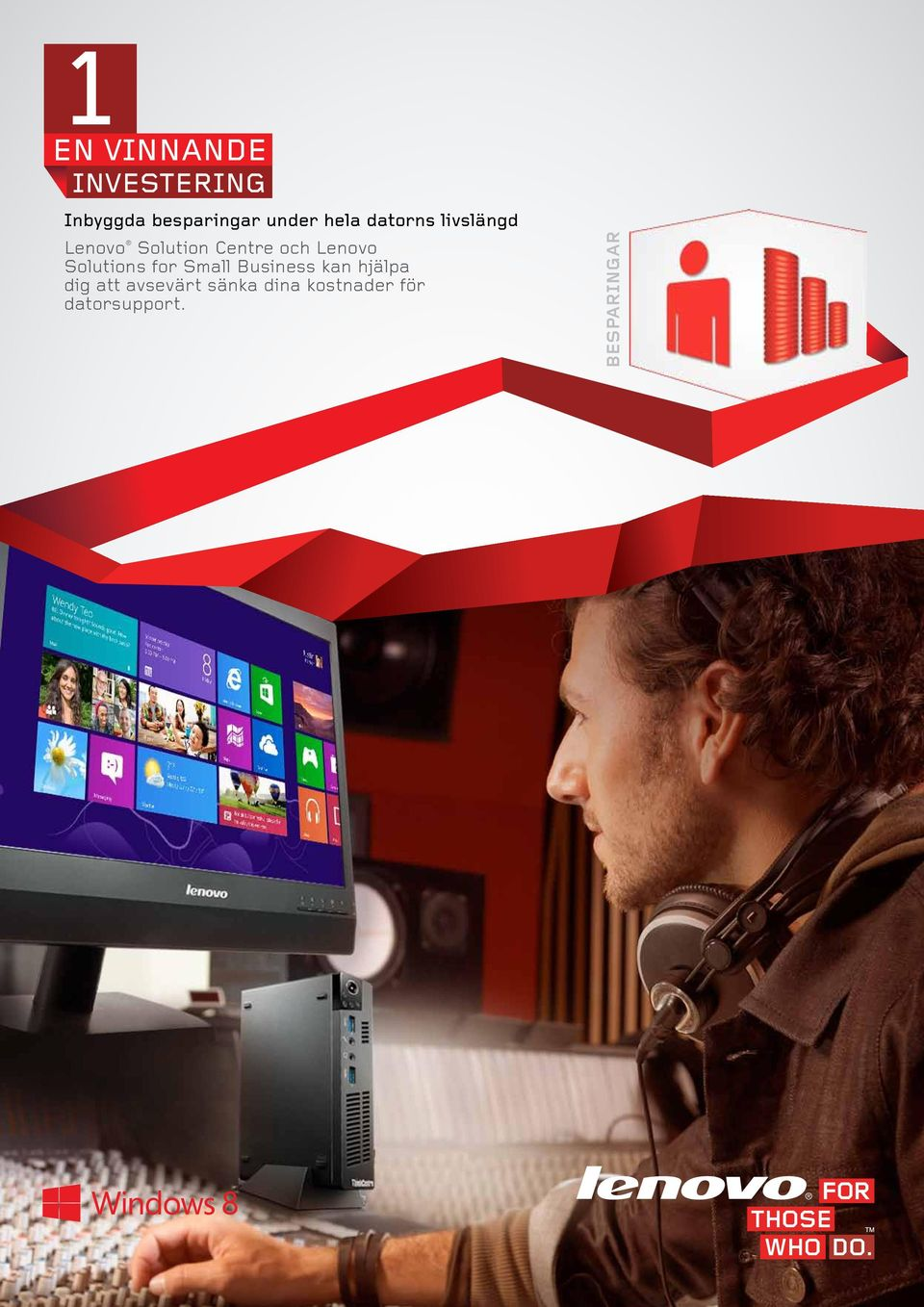 Lenovo Solutions for Small Business kan hjälpa dig att