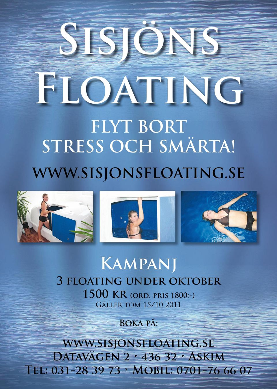 SE Kampanj 3 floating under oktober 1500 kr (ord.