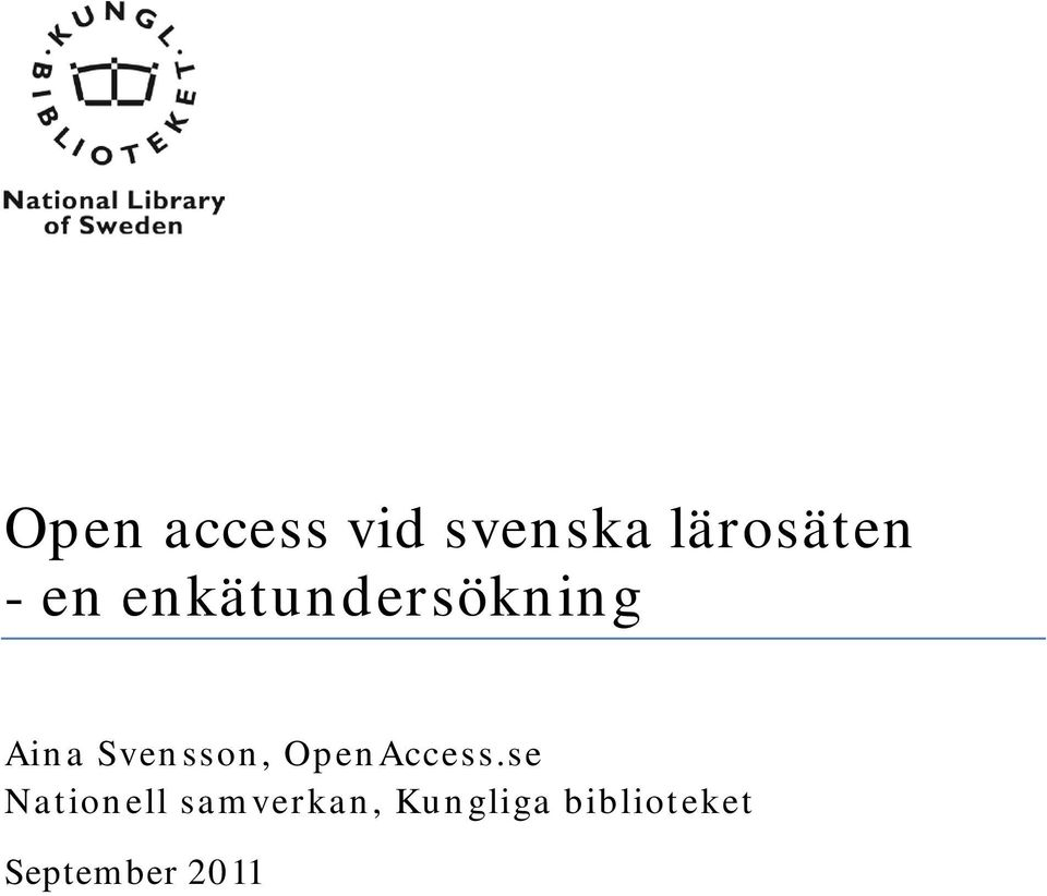 OpenAccess.