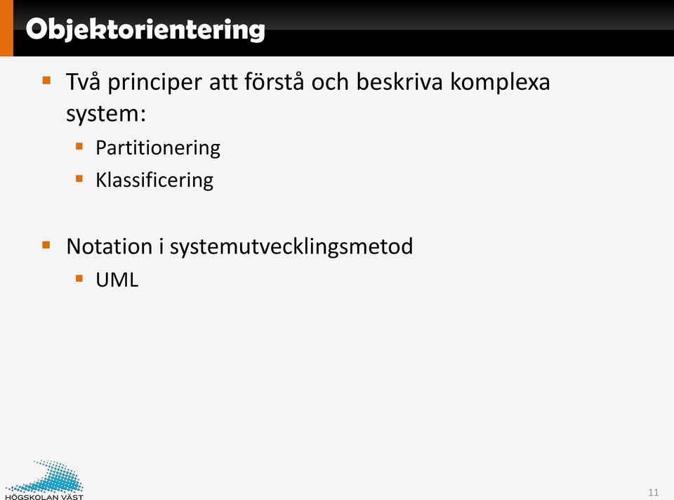 system: Partitionering